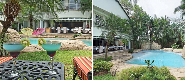 ushaka manor, guest house, guesthouse, umhlanga rocks, bed and breakfast, self catering, accommodation, luxury suites, dstv, swimming pool